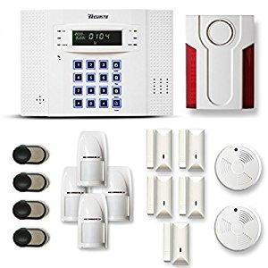 toutes les alarme maison sans fil dnb 4 5 pi ces mouvement bon rapport qualit. Black Bedroom Furniture Sets. Home Design Ideas